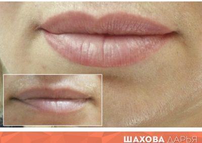 Татуаж губ в Ростове 61