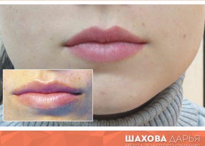 Татуаж губ в Ростове 64